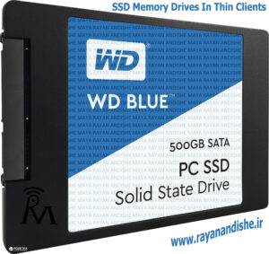 نمونه حافظه SSD