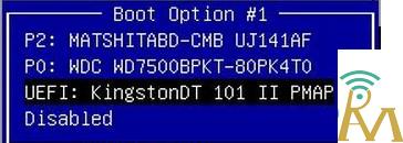 انتخاب روش بوت شدن سیستم در نصب ویندوز