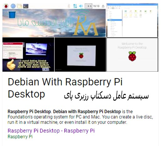 Raspberry Pi Desktop-maya