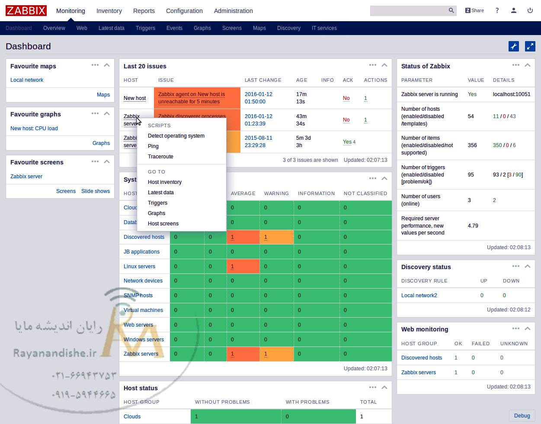zabbix monitoring
