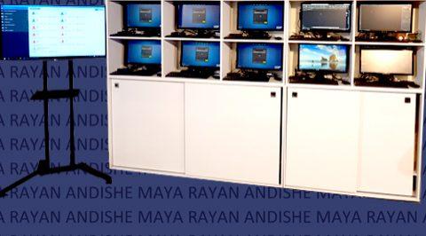 لابراتوار مایا - راه اندازی ده ها سیستم با یک کامپیوتر معمولی و چند زیرو کلاینت