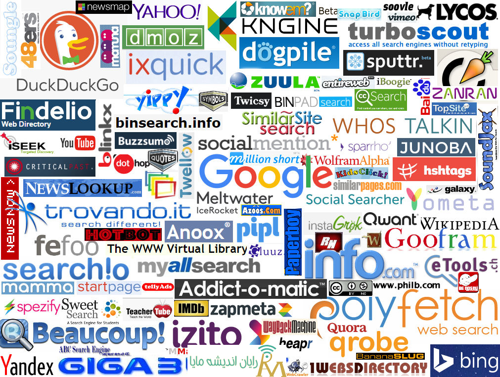 all search engines-سئو
