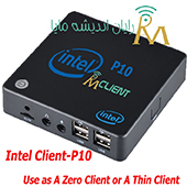 Optimized-zero client- maya client model intel p10